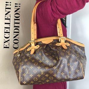 💋RARE💋zipper big Louis Vuitton bag